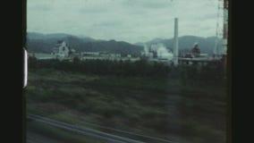 Reisen mit dem Kugel-Zug in Japan stock video footage