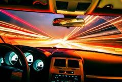 Reisen mit Lichtgeschwindigkeit Lizenzfreies Stockfoto