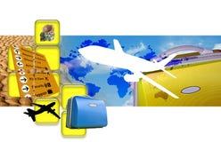 Reisen-Montage Lizenzfreies Stockbild
