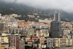 Reisen nach Monaco - franz?sisch - azurblaue K?ste stockbilder
