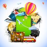 Reisen-Paket Lizenzfreies Stockfoto