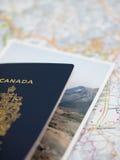 Reisen-Planung Stockfoto