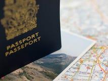Reisen-Planung Stockbild
