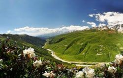 Reisen um Svaneti Stockfoto