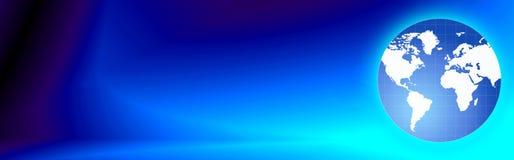 Reisen-Web-Vorsatz/Weltkugel Lizenzfreie Stockfotografie