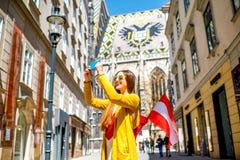 Reisen in Wien Stockfotos