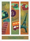 Reisen zu Europa Stockbilder