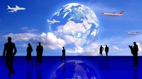 Reisenauffassung Lizenzfreie Stockfotografie