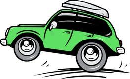 Reisenauto Lizenzfreies Stockfoto