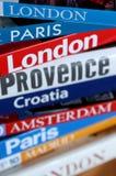 Reisenbücher Lizenzfreie Stockbilder