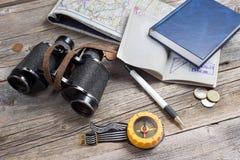 Reisendausrüstung Lizenzfreie Stockfotografie