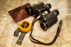Reisendausrüstung Stockbild