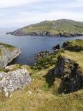 Reisende Dursey-Insel lizenzfreies stockbild