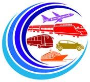 Reisende Fahrzeuge Lizenzfreie Stockfotos