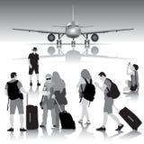 Reisende Leute Stockfoto