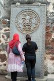 Reisende in Melaka Lizenzfreie Stockbilder