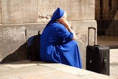 Reisende Nonne Lizenzfreies Stockfoto