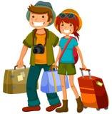 Reisende Paare Stockbilder