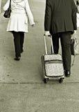 Reisende Paare Stockfoto