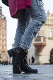 Reisende Schuhe lizenzfreies stockfoto