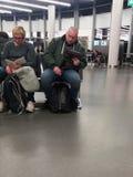 Reisende in Wien Lizenzfreie Stockfotos