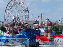 Reisender Karneval, der Standort löst Stockfotografie