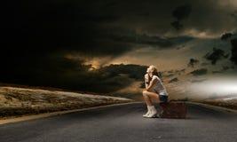 Reisendes Konzept Stockfoto