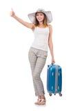 Reisendes Tourismuskonzept lokalisiert Lizenzfreies Stockfoto