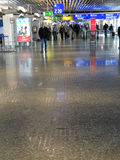 Reisendformreflexionen Lizenzfreies Stockbild