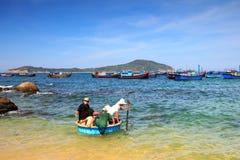 Reisendherausforderungs-Korbboote Stockfotografie