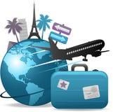 Reisenhintergrund Lizenzfreie Stockbilder