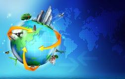 Reisenkonzept Lizenzfreies Stockfoto