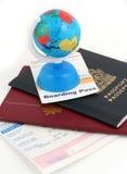 Reisennotwendigkeiten Lizenzfreies Stockbild