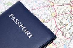Reisenpaß lizenzfreies stockbild