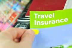 Reisenversicherung lizenzfreie stockfotos