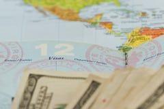 Reisepläne Stockfotos