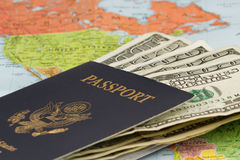 Reisepläne Lizenzfreie Stockfotografie