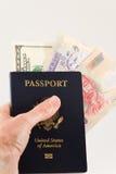 Reisepläne Stockfoto
