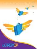 Reiseplakatdesign Stockbilder