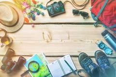 Reiseplanung und -vorbereitung für Feiertagsreise Stockfoto