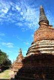 Reisereise am sonnigen Tag und blauer Himmel in Thailand Stockfoto
