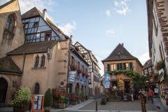 Reiseweinweg in Frankreich Laweg-DES-vins Stockfotos