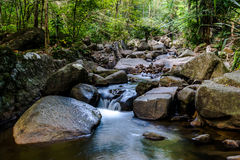Reiseziele Rio Celeste Costa Rica Nature Background Travel Destinationss Rio CelesteCosta Rica Nature Background stockbilder