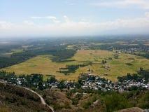 Reisfelder, -himmel und -schönheit Stockbilder