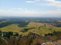 Reisfelder, -himmel und -schönheit Stockfotos