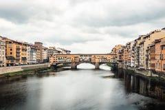 Reisfoto van Ponte Vecchio royalty-vrije stock fotografie