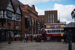 Reisgids Verzamel in Chester de stad van de provincie van Cheshire in Engeland royalty-vrije stock afbeeldingen