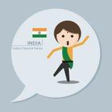 Reisinzameling - India Vector Illustratie