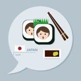 Reisinzameling - Japan Vector Illustratie
