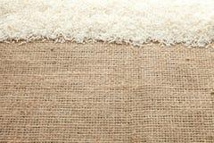 Reiskorn sieht von oben an lizenzfreies stockbild